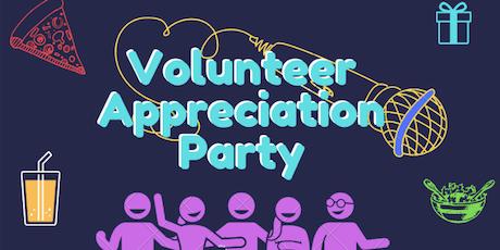 ENC Volunteer Appreciation Party tickets