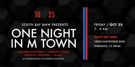 One Night in M Town Presented by South Bay BMW tickets