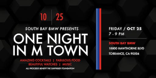 One Night in M Town Presented by South Bay BMW