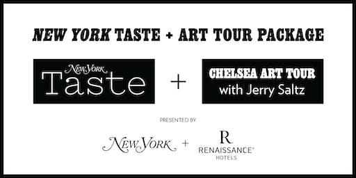 New York Taste + Renaissance Art Tour Package