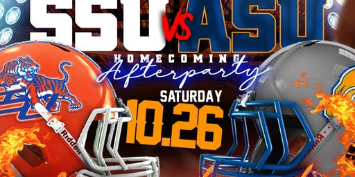 The Official #SSU VS #ASU HOMECOMING AFTER PARTY
