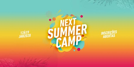 NEXT SUMMERCAMP ingressos