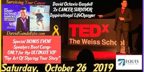 """"""" Surviving Your Cancer """" The Seminar That Inspired the TEDx Talk tickets"""