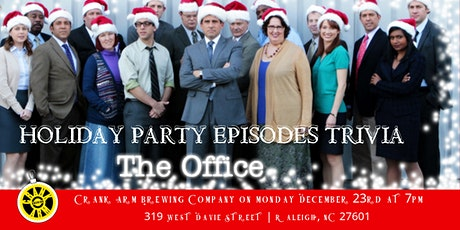 """The Office Trivia """"The Holiday Party Episodes"""" at Crank Arm Brewing tickets"""