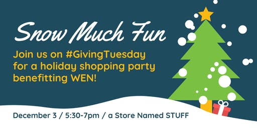 STUFF Holiday Shopping Party Benefiting Women's Employment Network