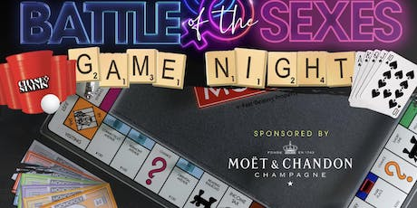 Moet & Chandon & SimmsMovement Presents Battle of the Sexes Afterwork Game Night Oct 23rd at Taj NYC Hosted by @Chase.Simms  tickets