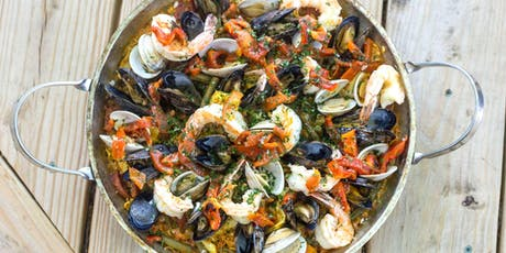 Seafood Paella Workshop - Cooking Class by Cozymeal™ tickets