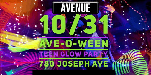 Ave-O-Ween Teen Glow Party w/ DJ Skee
