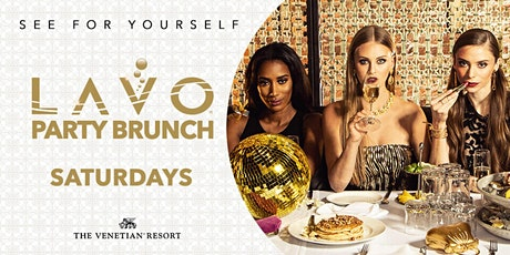 LAVO Party Brunch-FREE Entry & Drinks for Ladies @ Palazzo, Las Vegas 12.21 tickets