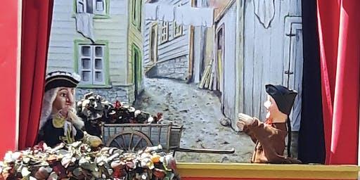 """Théâtre de marionnettes de Guignol """"Entre poux et artéfacts"""""""