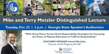 2nd Annual Mike and Terry Metzler Distinguished Lecture tickets