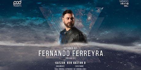 FERNANDO FERREYRA Casa Cordoba Experience entradas