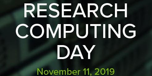 Research Computing Day 2019