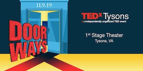 TEDxTysons 2019: Doorways - Session 1 tickets