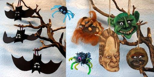 Horrific Halloween  Crafts