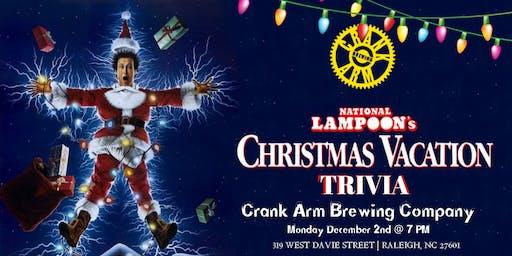 National Lampoon's Christmas Vacation Trivia at Crank Arm Brewing