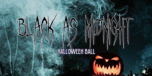 Black as Midnight Halloween Ball