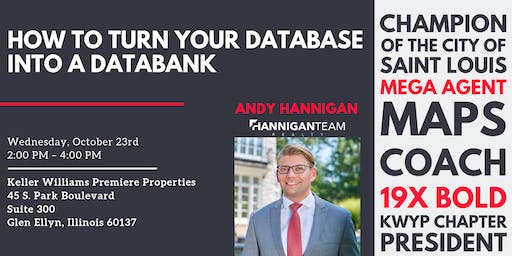 How to Turn Your Database Into a Databank w/ Andy Hannigan