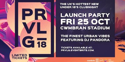 PRVLG U18 - Launch Night