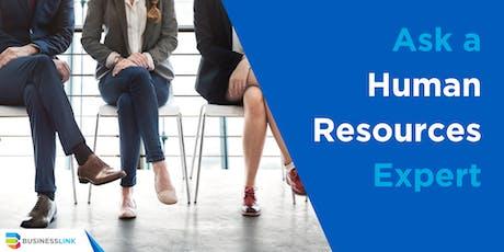 Ask a Human Resource Expert - Oct 30/19 tickets