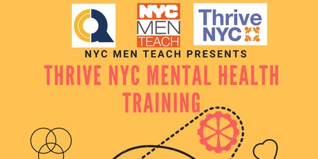 QCC Thrive Mental Health Training tickets