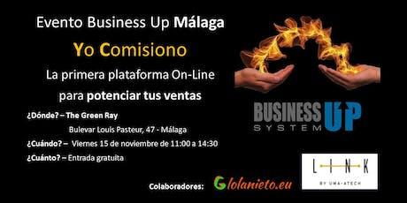 Evento Business Up MÁLAGA (noviembre) entradas