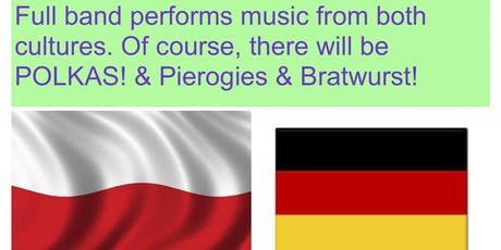 GERMAN & POLISH CONCERT - Full Band doing Cultural Live Music tickets