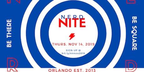 Nerd Nite Orlando - November 2019 tickets