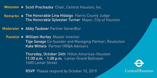 Central Houston Annual Meeting Luncheon