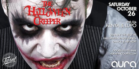 'The Halloween Creeper' feat DJs Kenya & Lupo - Open til 4AM! tickets