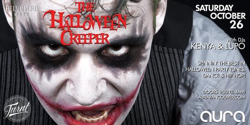 'The Halloween Creeper' feat DJs Kenya & Lupo - Open til 4AM!