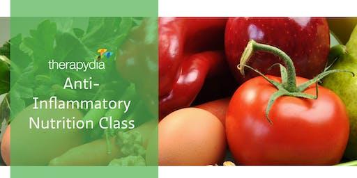 Therapydia Anti-Inflammatory Nutrition Class