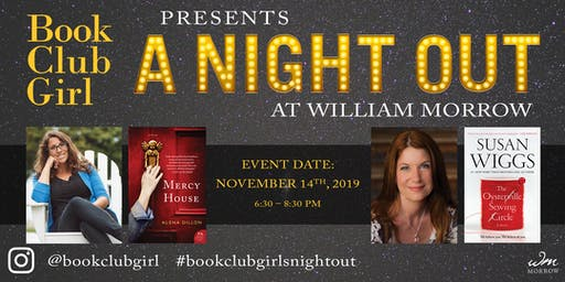 Book Club Night Out with Susan Wiggs and Alena Dillon