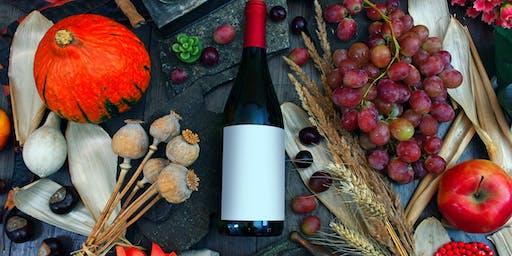 Fall Favorites Wine Tasting