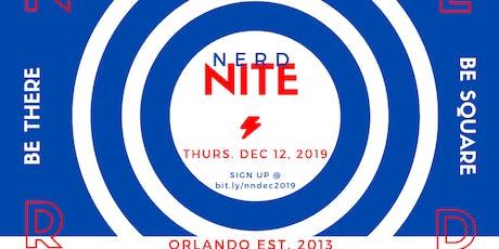 Nerd Nite Orlando - December 2019 tickets