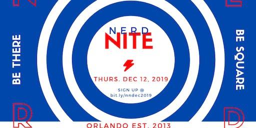 Nerd Nite Orlando - December 2019