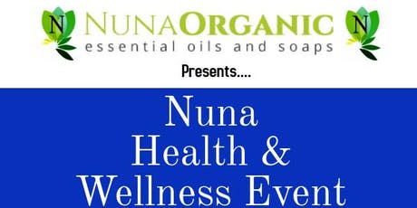 Nuna's Health & Wellness Event tickets