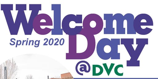 Spring 2020 Welcome Day
