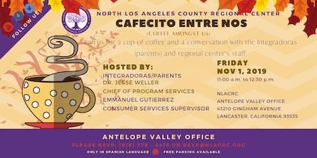AV Cafecito Entre Nos - Nov 1st tickets