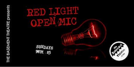 RED LIGHT OPEN MIC tickets
