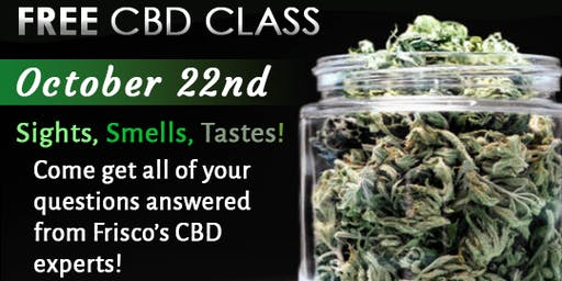 FREE Hands On CBD Class & Experience!