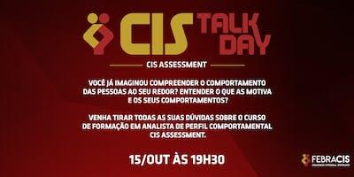 [BELO HORIZONTE/MG] Cis Talk Day - Cis Assessment - 15 de Outubro