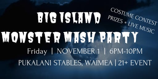 Big Island Monster Mash Party
