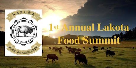 1st Annual Lakota Food Summit tickets