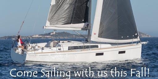 Sailing Cruise of San Francisco Bay - Saturday November 16th