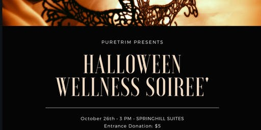 MOVE, FLOW, & GLOW Halloween Soiree' Fundraiser