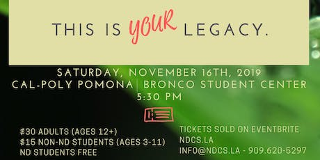 ND's 15th Annual Gala tickets