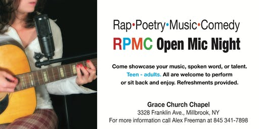 Copy of Rap, Poetry, Music, Comedy RPMC OPEN MIC NIGHT