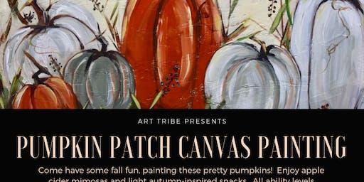 Pumpkin Patch Canvas Art