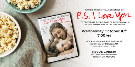 #HarperPresents: A Special Screening of PS, I Love You tickets